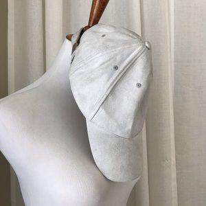 Accessories - Women's NEW Gray Suede Adjustable Baseball Cap